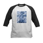 Singing the Van Gogh Blues Kids Baseball Jersey