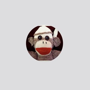 Ernie the Sock Monkey Mini Button