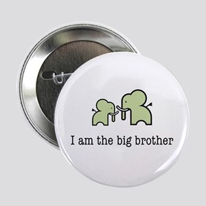 """Two Elephants Big Brother 2.25"""" Button"""