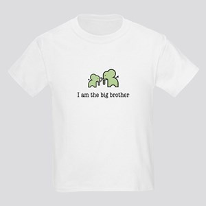 Two Elephants Big Brother Kids Light T-Shirt
