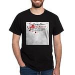 Tap Arms, Not Veins BJJ Dark T-Shirt