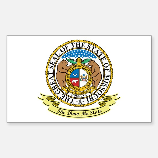 Missouri Seal Sticker (Rectangle)