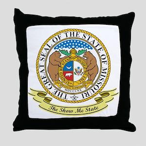 Missouri Seal Throw Pillow