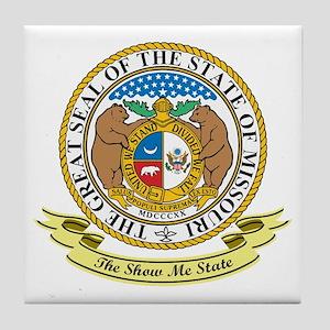 Missouri Seal Tile Coaster