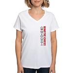 Kinetic Chess BJJ Women's V-Neck T-Shirt