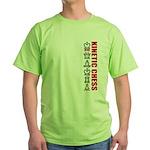 Kinetic Chess BJJ Green T-Shirt