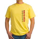 Kinetic Chess BJJ Yellow T-Shirt