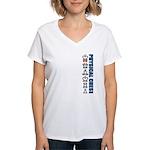 Physical Chess Women's V-Neck T-Shirt