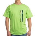 Physical Chess Green T-Shirt