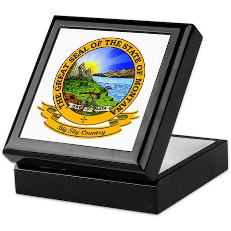 Montana Seal Keepsake Box