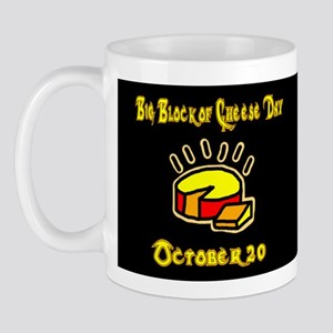 Big Block of Cheese - mug (black)