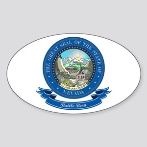 Nevada Seal Sticker (Oval)