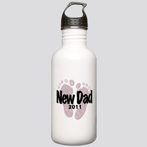 New Dad 2011 (Girl) Stainless Water Bottle 1.0L