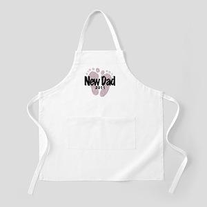 New Dad 2011 (Girl) Apron