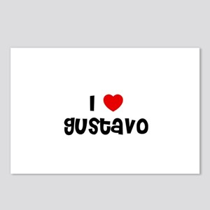 I * Gustavo Postcards (Package of 8)