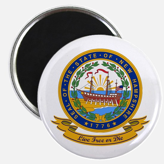New Hampshire Seal Magnet