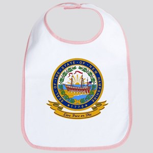 New Hampshire Seal Bib