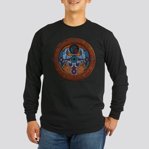 Clock Tower Long Sleeve Dark T-Shirt