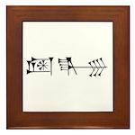 Amagi Framed Tile