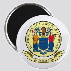 New Jersey Seal Magnet
