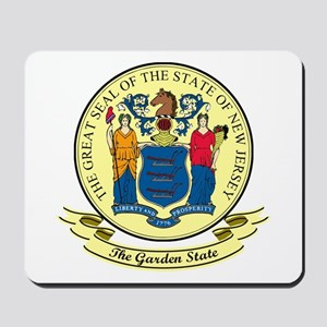 New Jersey Seal Mousepad