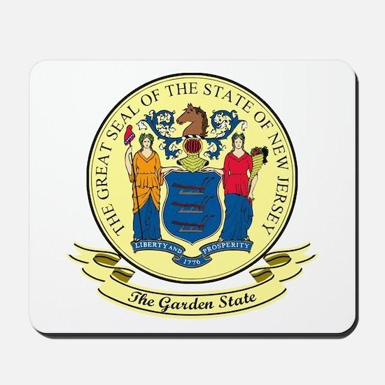 New Jersey Seal Mousepad