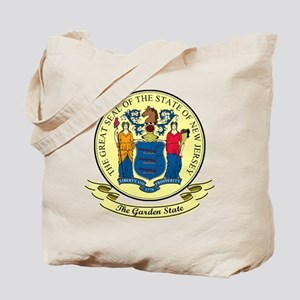 New Jersey Seal Tote Bag