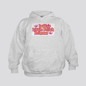 Daddy's Little Polish Princess Kids Hoodie