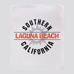 Laguna Beach California Throw Blanket