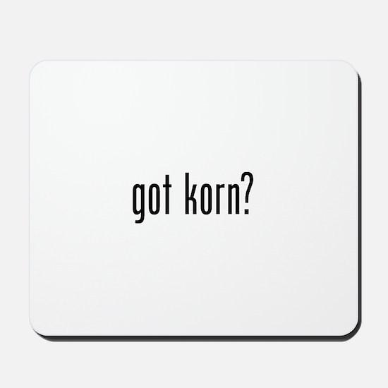 Got Korn Mousepad