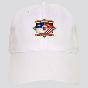 Detroit Flag Cap
