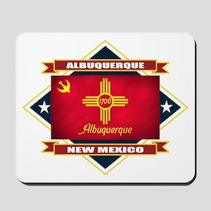 Albuquerque Flag Mousepad