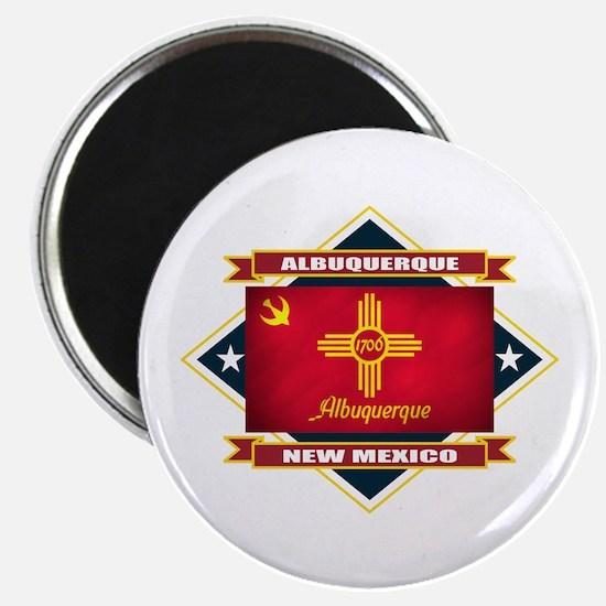 Albuquerque Flag Magnet