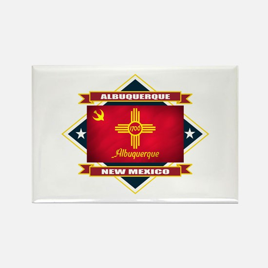 Albuquerque Flag Rectangle Magnet
