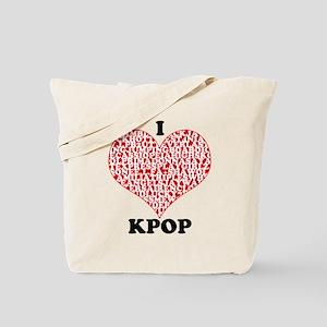 I <3 KPOP! Tote Bag