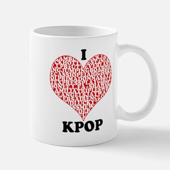 I <3 KPOP! Mug