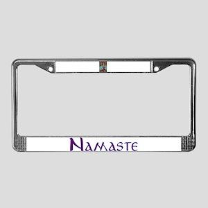 Yoga Balance-Tree POSE License Plate Frame