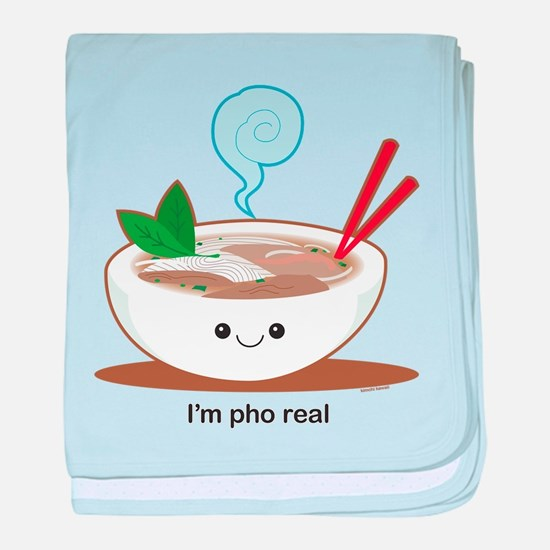 Pho Real! baby blanket