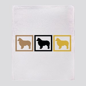Australian Shepherd Dog Throw Blanket
