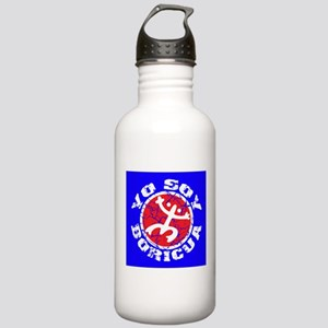 Yo Soy Boricua - Blu-Rd Stainless Water Bottle 1.0