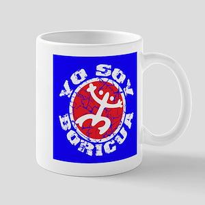 Yo Soy Boricua - Blu-Rd Mug