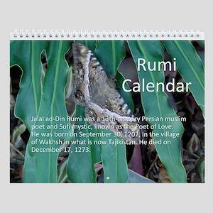 Rumi Quote Wall Calendar
