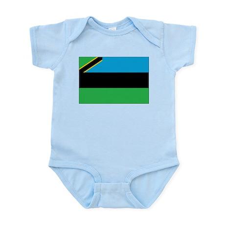 Zanzibar Flag Infant Bodysuit