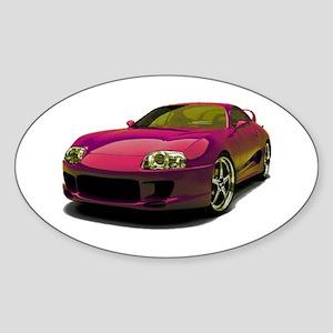 Magenta MKIV Sticker (Oval)