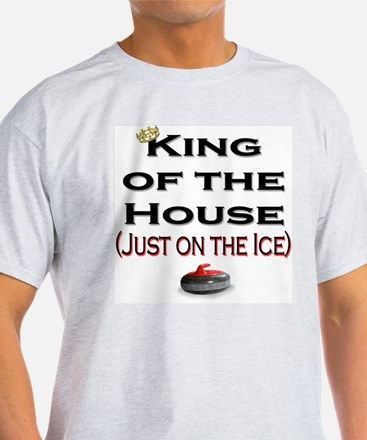 King of the House Ash Grey T-Shirt