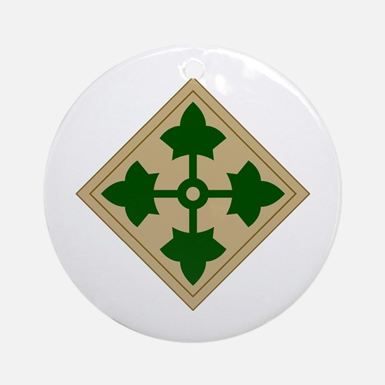 Ivy Division Ornament (Round)