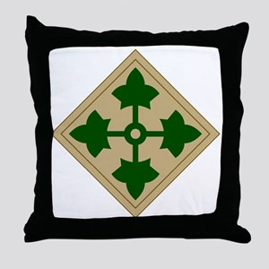 Ivy Division Throw Pillow