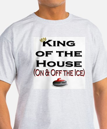 King of the House2 Ash Grey T-Shirt