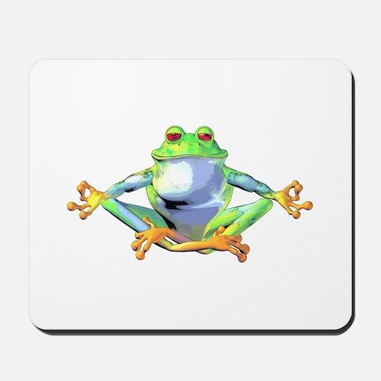 Meditating Frog Mousepad