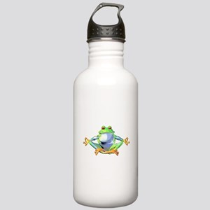 Meditating Frog Stainless Water Bottle 1.0L